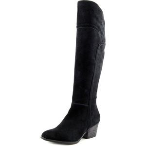 Crown Vintage Suede Louvina Knee High Boots
